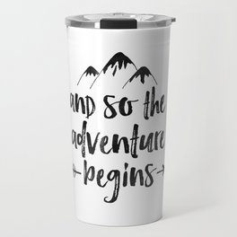 And So The Adventure Begins Sign,Adventure Awaits,Adventure Nursery,Kids Room Decor,Quote Posters,Pr Travel Mug