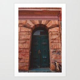 Brooklyn Door IV Art Print