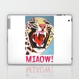 Big Cat Miaow! Laptop & iPad Skin