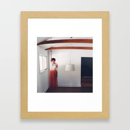 The Weight of Memory Framed Art Print