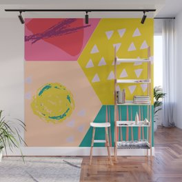 Abstract Game Wall Mural