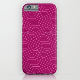 Jazzberry jam - violet - Modern Vector Seamless Pattern iPhone Case
