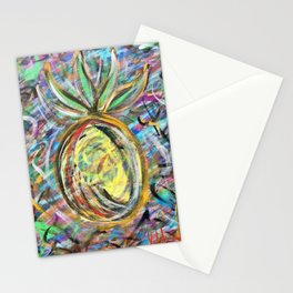 Miami Pineapple Stationery Cards