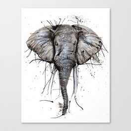 Elephantish Canvas Print