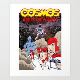 Mr Nailsin Riffs:Cosmos:War Of The Planets Art Print