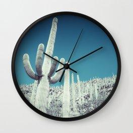 ETHREAL CACTUS I Wall Clock