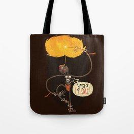 Yoga Flame Tote Bag