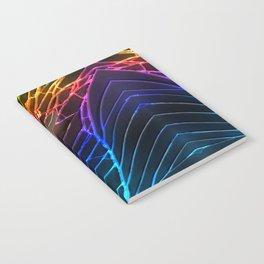 Rainbow Broken Damaged Cracked out Black handphone iPhone Notebook