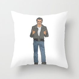 The Fonz Throw Pillow