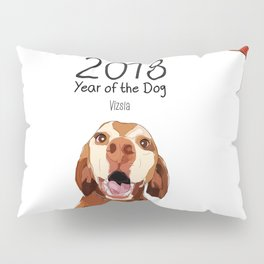 Year of the Dog - Vizsla Pillow Sham