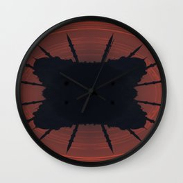 Abstract mosque silhouette Wall Clock