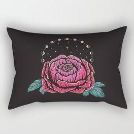 Cosmic Peony Rectangular Pillow
