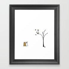 Little bird again. Framed Art Print
