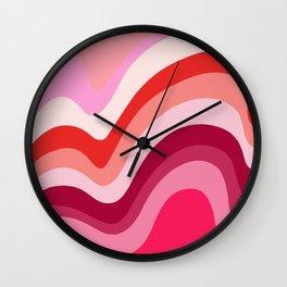 Retro Waves 4 Wall Clock
