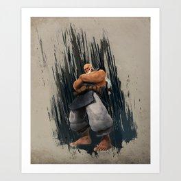 Gouken Art Print