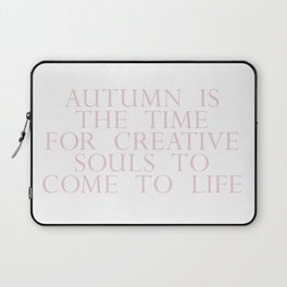 time for creative souls Laptop Sleeve