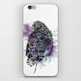 Patterned Quail iPhone Skin