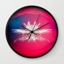Pixelation Owl Wall Clock