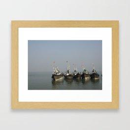 RaftUp Framed Art Print