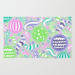 Candy Store Pattern Print Rug
