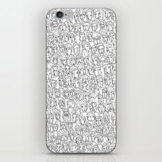 1000 imaginary friends and one bear iPhone & iPod Skin