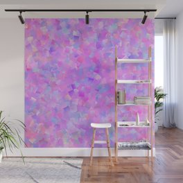 Funfetti (Preppy Abstract Pattern) Wall Mural