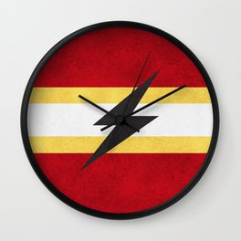 Flash of Color Wall Clock