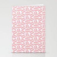 macaroon Stationery Cards featuring Rose Pink Macaron Pattern - France Art - French Macaroon by French Macaron Art Print and Decor Store