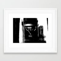 pocket fuel Framed Art Prints featuring Fuel by Karen A Webb Photography