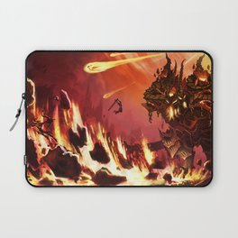 Rift Fire Colossus Laptop Sleeve
