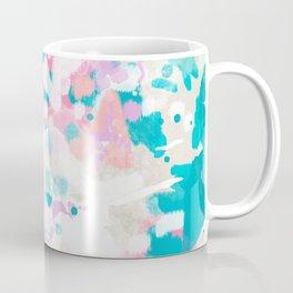 Shaz - abstract painting minimal modern color palette boho nursery home decor Coffee Mug