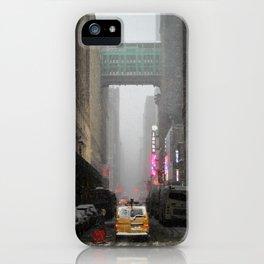 Snow Empire - NYC iPhone Case
