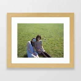 Halfway Framed Art Print