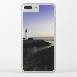 Sunrise in Maine Clear iPhone Case