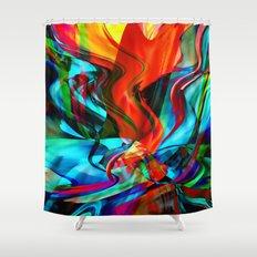 Love Tornado Shower Curtain