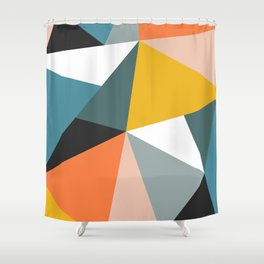 Modern Geometric 36 Shower Curtain