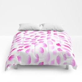 Pink Foots Comforters