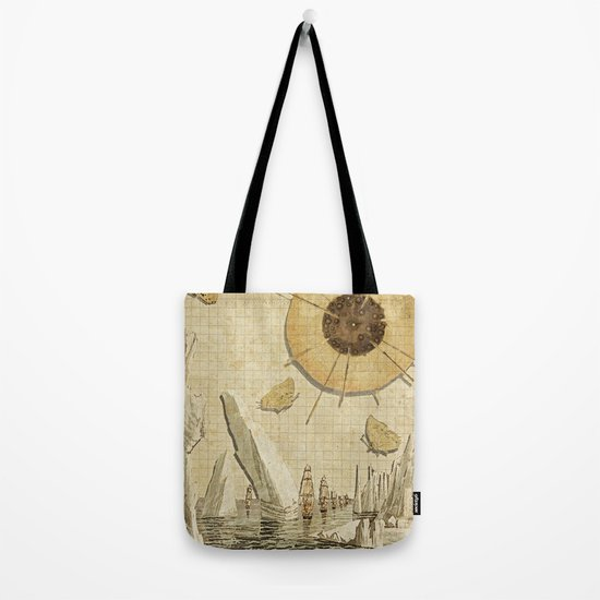 paper I :: butterflies/icebergs Tote Bag