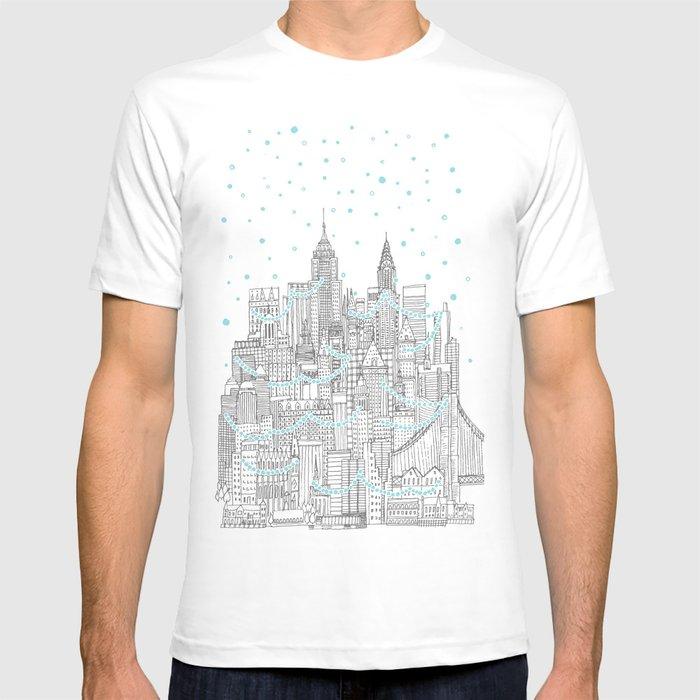 Winter in New York T-shirt