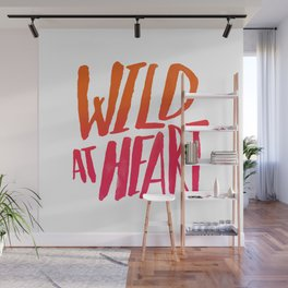 Wild At Heart x Typography Flame Ombre Wall Mural