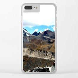 Highest point of the Salkantay Trek Clear iPhone Case