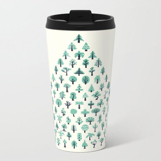 Treeangle Metal Travel Mug