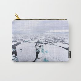 Sea Ice Carry-All Pouch