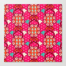 Jucy blossom Canvas Print
