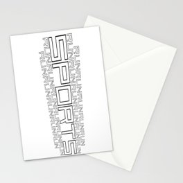 Run for relaxation, pleasure, health... white Stationery Cards