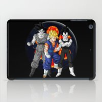 dbz iPad Cases featuring DBZ - Mighty Fusion by Mr. Stonebanks
