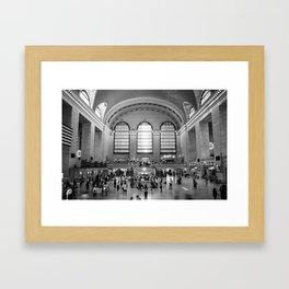 Grand Central Terminal Framed Art Print