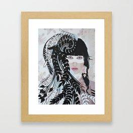Love & Darkness Framed Art Print