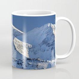 Snowy mountains. 3.478 meters Coffee Mug