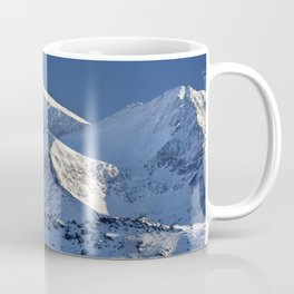 Snowy mountains. 3.478 meters Coffee Mug